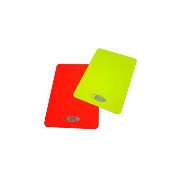 Erotuomarin kortit (keltainen ja punainen)