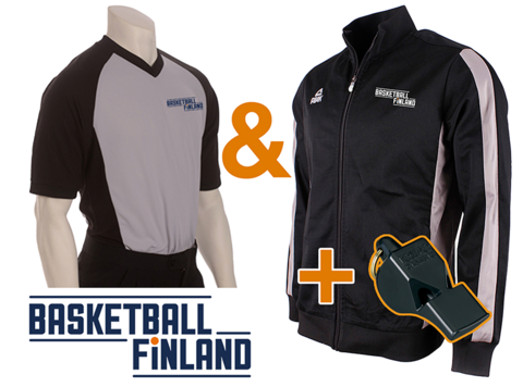 Starter Package! Referee Shirt & Warm-up Jacket + Fox40 Classic