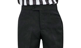 Smitty Women Flat Front Referee Pants