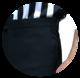 Smitty Premium Slim Fit -erotuomarihousut (sivutaskulla) (NBA/FIBA Style)