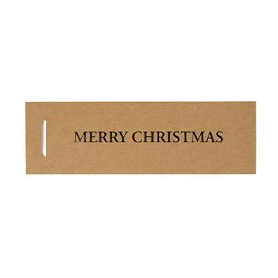 Pakettikortit- Merry Christmas, valkoinen