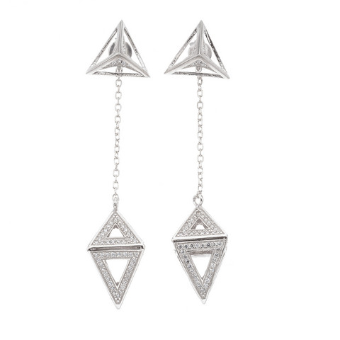 Silver Bar- Bazar, korvakorut hopeaa