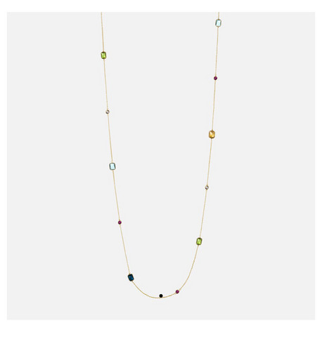 Snö of Sweden- Twice chain pearl neck 100cm