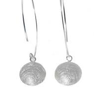 Silver Bar- Pastilli v-koukulla, korvakorut hopeaa