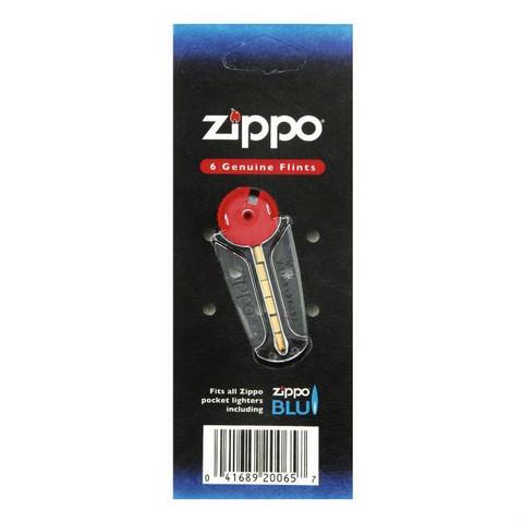 Zippo-  kivet, pakkauksessa 6 kappaletta kiviä.