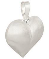 Silver Bar- Chubby Heart Snö, hopeariipus