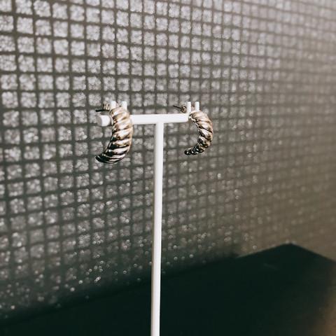 Silver Bar- Palmikko, korvakorut