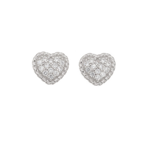 Silver Bar- Pillow hearts, hopeakorvakorut