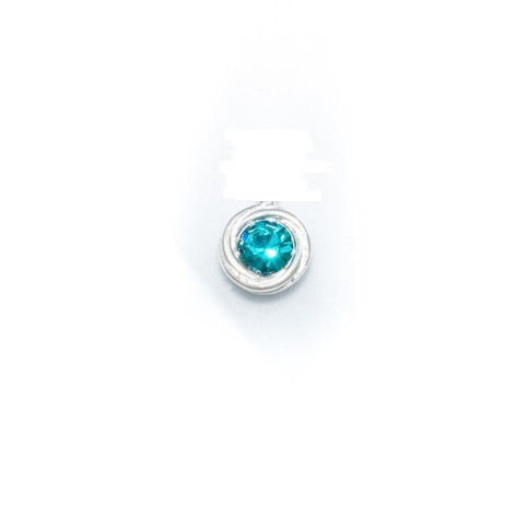 Silver Bar- Kivi solmussa, hopeakorvakorut