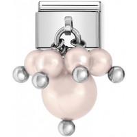 Nomination Italy-  Silvershine Pink Pastel Swarovski Pearls, classic pala