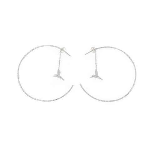 Silver Bar- Colibri rengas, hopeakorvakorut