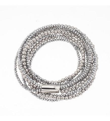 Silver Bar- Style magnet steel, rannekoru. USEITA VAIHTOEHTOJA!