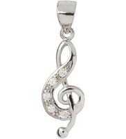 Silver Bar- G-clef, hopeariipus