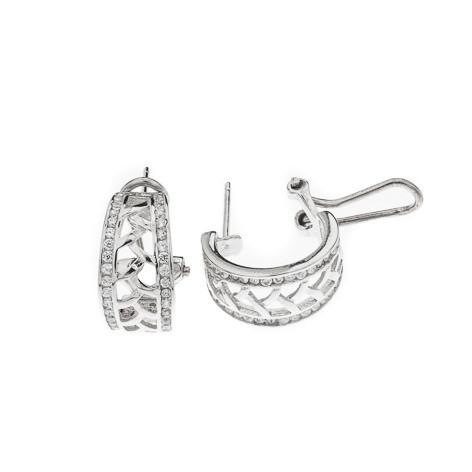 Silver Bar- Braid rengas, hopeakorvakorut
