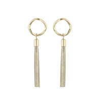 Snö of Sweden- Charlize long Tassel Earring