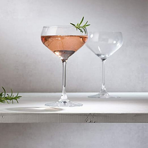 Villeroy & Boch- Purismo bar, shamppanjalasit. 2kpl/setti