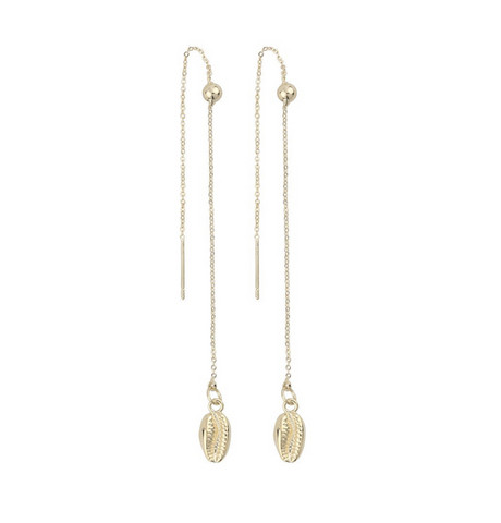 Snö of Sweden- Shelly Chain Earring