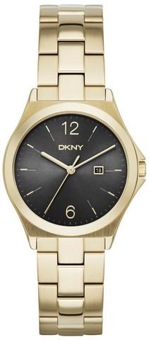 DKNY- Dress Musta/Kullansävytetty teräs Ø36 mm, naisten kello