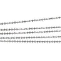 Korutuote Oy- Hopeaketju/Riipusketju 50cm Beads Diamond palloketju