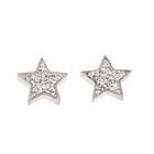 Silver Bar- Titaanikorvakorut, tähti