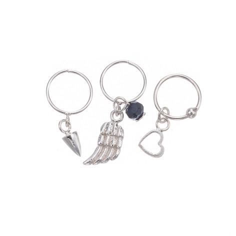 Silver Bar- Cuffs, hopeakorvakorut.