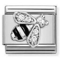 Nomination Italy- Classic SilverShine Symbols Bee