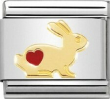 Nomination Italy- Classic, Rabbit with Heart