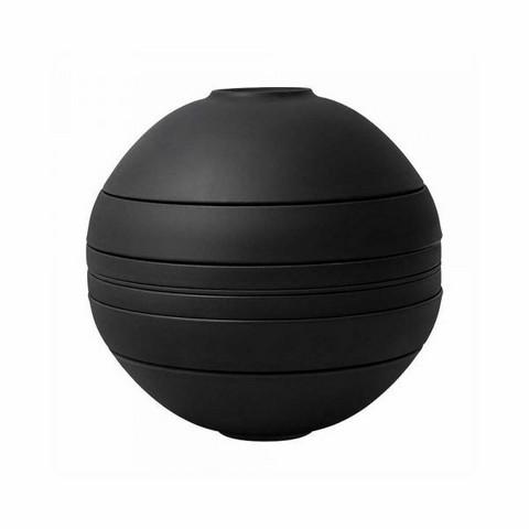 Villeroy & Boch- Iconic La Boule astiasto kahdelle, black