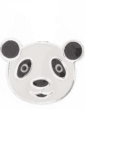 Silver Bar- Hopeakorvakorut, Panda