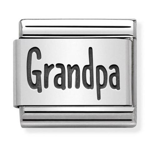 Nomination Italy- Classic,Silvershine. Grandpa
