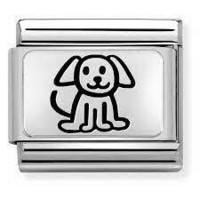 Nomination Italy- Classic, Puppy Silver Charm