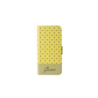 Guess- Gianina Slim Booklet Case Galaxy S4 - Yellow