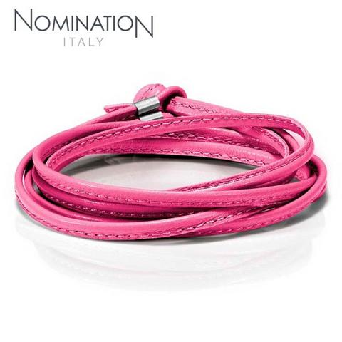 Nomination MyBonBons Pinkki Nahkaranne