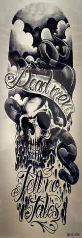 Dead men tell no fales XL