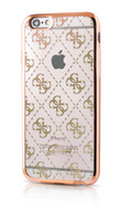 Guess- iPhone 6/6S 4G Transparent TPU Cover Gold
