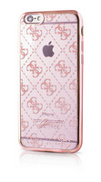 Guess- iPhone 6/6S 4G Transparent TPU Cover Rose Gold