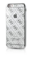 Guess- iPhone 6/6S 4G Transparent TPU Cover Silver