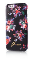 Guess- iPhone 6/6S Blossom TPU Cover Flower Black