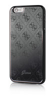 Guess- iPhone 6/6S 4G Aluminium Hard Cover Black