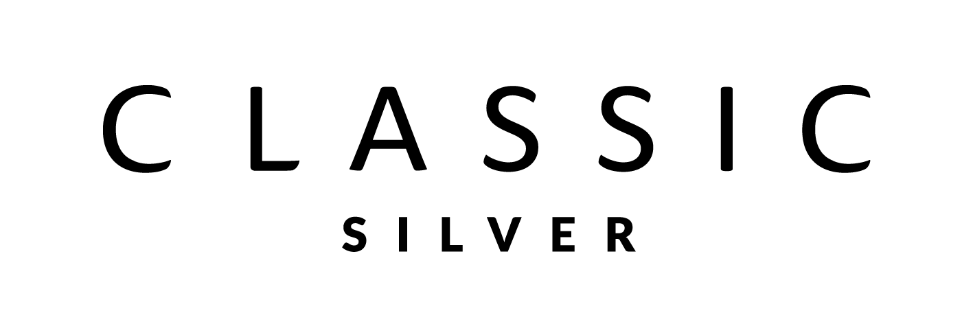 CLASSIC silver- hopeakorut