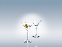 Villeroy & Boch- Martini/Coctail, lasit. Setti 2kpl