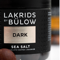 LAKRIDS BY BÜLOW- Small Dark & Sea Salt