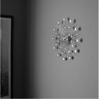 Karlsson- Sunburst, seinäkello. 30cm
