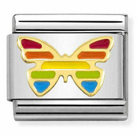 Nomination Italy- Classic, Rainbow butterfly