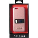 Guess- iPhone 6/6S Saffiano Look Hard Case- Pink