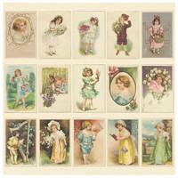 Children korttikuva-arkki