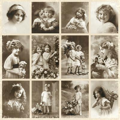 Little sweeties korttikuva-arkki