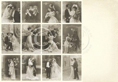 Vintage Wedding day