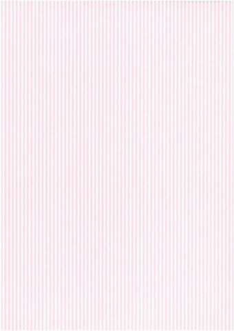 Designkartonki Raita vaaleanpunainen A4 5/kpl