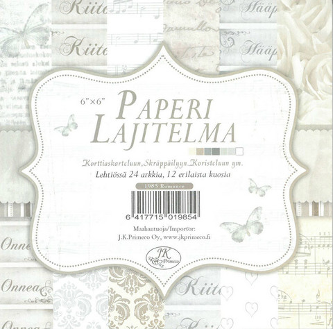 Paperilajitelma Romance Glitter